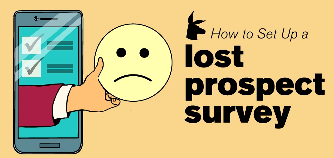 Customer Feedback Survey | How to Set Up a Lost Prospect Survey